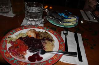 Biergarten Dinner Epcot