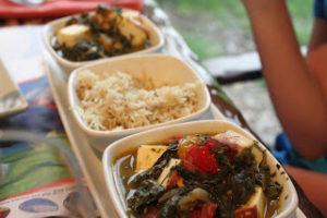 Sanaa Animal Kingdom Lodge Dinner gluten free dairy free