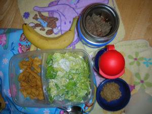 gluten free dairy free lunch taco