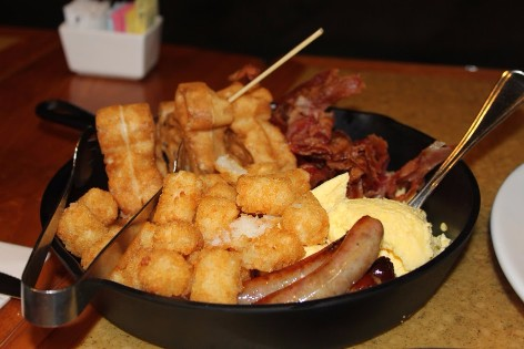 Garden Grill Breakfast gluten free dairy free