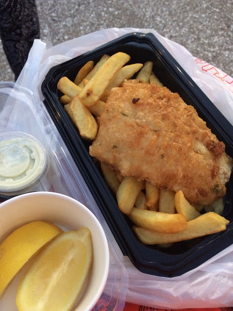 Fish and Chips Gluten Free Dairy Free Cooke's of Dublin Disney Springs